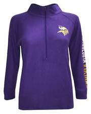 New Era Women's NFL Minnesota Vikings 1/4 Zip Athletic Jacket Sweatshirt 78051L