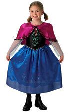 #child BAMBINA DISNEY ANNA PRINCIPESSA VESTITO congelati MOVIE Libro Settimana Costume