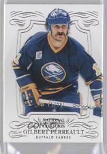 2013 Panini National Treasures Silver #34 Gilbert Perreault Buffalo Sabres Card