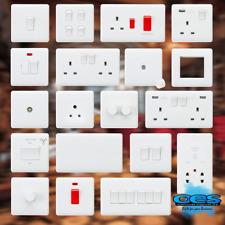 Knightsbridge Curved Edge Light Switches & Sockets Full Range -15 Year Guarantee