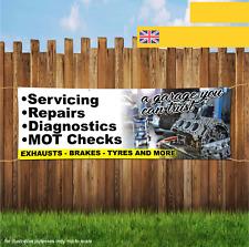 AUTO Garage MOT riparazioni diagnostica Outdoor Heavy Duty PVC BANNER SIGN 2061
