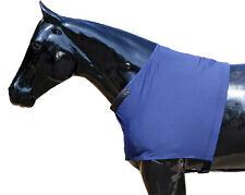 Fleece Shoulder Guards - Black Fleece Sleazy Sleepwear for Horses