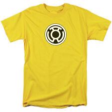 Green Lantern Corps Yellow Symbol Licensed Adult Shirt S-3XL