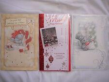 Tarjeta de Navidad stepmum o como una mamá o 1ST Navidad como una tarjeta madre Tatty Teddy