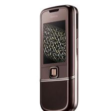 Nokia 8800 Sapphire Arte Brown 3G UMTS 2100 3MP Bluetooth 1GB Mobile phone