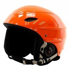 Demon Multi Sport Protection Orange Phantom Audio Helmet