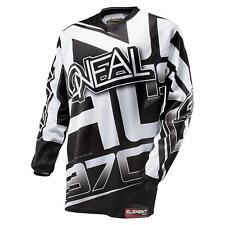 ONeal Element Jersey RACEWEAR schwarz Motocross MX Motorrad Enduro Shirt DH