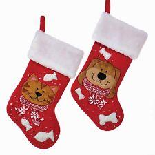 Dog & Cat Christmas Stockings