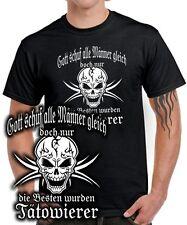 Tatuador Fun t-shirt sólo los mejores hombres tatuaje tribal Skull Design