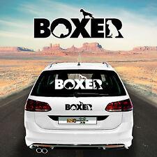 Autoaufkleber Boxer M1 Aufkleber fürs Auto Sticker Autofolie Hund Car Sticker