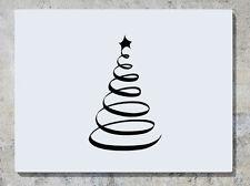 Árbol de Navidad Espiral Calcomanía Adhesivo Pared Arte Imagen