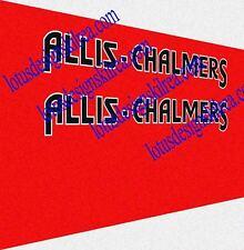 allis chalmers stickers / decals