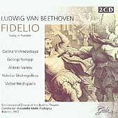 New: Galina Vishnevskaya: Fidelio Import Audio CD