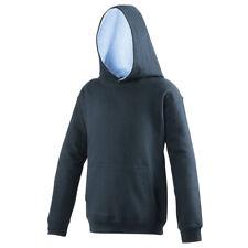 JH03J AWDis kids classic varsity hoodie boys girls hoody hooded pullover