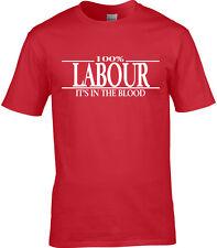 politique Hommes T-shirt travail SOCIALISTE Corbyn vote 2017 UK élection