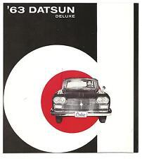 Datsun  Folder  Deluxe  Cedric Sedan  1963