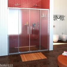 Duschtür  LUCI LINE150cm oder 160cm breit ,200cm hoch, 2 Schiebetüren, Echtglas