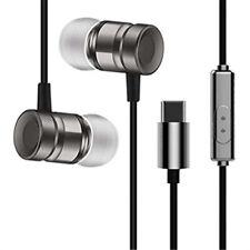 USB Type C Plug In-Ear Metal Headphone Mic for Huawei P2