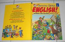 Geronimo Stilton ENGLISH NUMBERS AND COLOURS - OTTIMO 2007