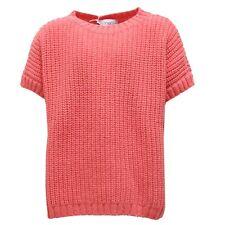 7626R maglione bimba lana rosa SIMONETTA maglioni jumpers kids
