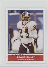 2004 Bazooka Minis #4 Champ Bailey Denver Broncos Football Card