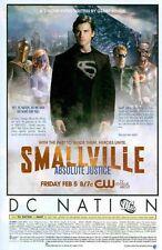 Smallville: Absolute Justice JSA: Green Arrow, Hawkman: Original Photo Print Ad!