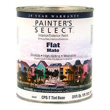 True Value Mfg CPST-QT PS QT Tint Flat Paint