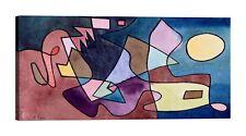 PAUL KLEE Dramatic Landscape Stampa su tela Canvas effetto dipinto