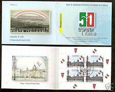 2004 ITALIA USATO LIBRETTO TRIESTE ANNULLO FDC 1 GIORNO - ED