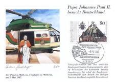 Germany 1987 Jan Pawel II John Paul pope papa papst (87/l1-11)