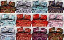 Bohemian Large Mandala Floor Pillow Throw Case Indian Cushion Cover Pouf Sham