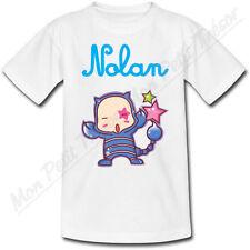 T-shirt Enfant Scorpion Horoscope avec Prénom Personnalisé