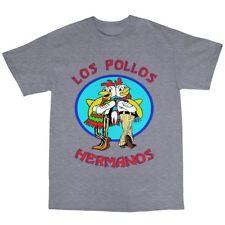 Los pollos hermanos camiseta 100% algodón