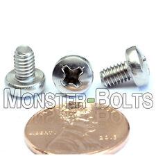 M4 x 6mm  Stainless Steel Phillips Pan Head Machine Screws, Cross Recessed A2