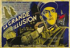 La grande illusion Jean Gabin vintage movie poster 13