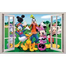 Sticker enfant fenêtre Mickey Minnie réf 1063 1063