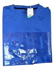 Penguin da Uomo T-shirt Full Logo Pinguino-Blu reale (g15)