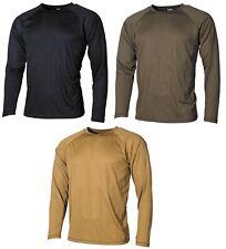 US Army Camiseta interior NIVEL I GEN III Ropa Largo Termo ECWCS BUNDESWEHR
