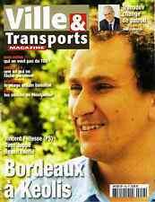 Ville & Transports N°458 Grenelle de l'environnement TGV Rhin-Rhône Stockholm