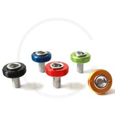 Kurbelschrauben mit farbiger Alukappe für Vierkant-Kurbeln MTB/Road