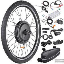 """26"""" 1000W Front Rear Wheel Electric Bicycle Conversion Kit E-Bike Motor w/ LCD"""