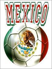 Mexico Futbol Metal Sign, football, soccer, sports Mexico world cup