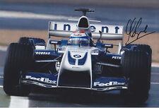 Marc Gene BMW Williams Hand Signed Photo 12x8 1.