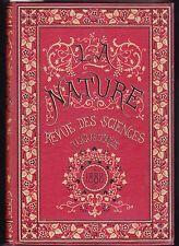 LA NATURE Revue des sciences et de leurs applications  1er semestre 1988