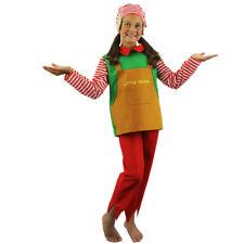 Costume Elfo Bambino Bambini Costume Natale Santas Helper Pixie Festa di Natale