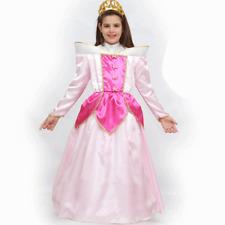 VESTITO COSTUME Maschera di CARNEVALE bambina - LA BELLA ADDORMENTATA