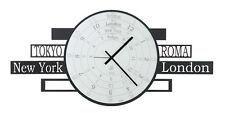 ARTI E MESTIERI orologio da parete JET-LAG in metallo verniciato e vetro