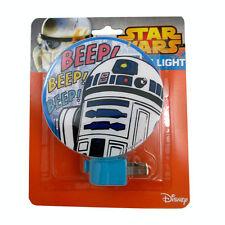 Night Light Plug-in Rotary Shade Star Wars Beep Darth Vader Girl Boy NEW