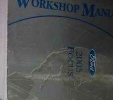 2005 FORD FOCUS Service Repair Shop Workshop Manual FACTORY OEM