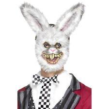 Men's Killer Rabbit Fancy Dress Mask Scary Halloween Cosplay Horror Movie Bunny